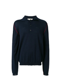 Marni Contrast Edge Polo Shirt