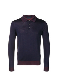 Lardini Fitted Polo Top