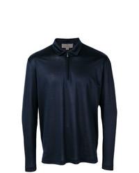 Canali Half Zip Polo Shirt