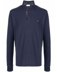 Etro Long Sleeve Polo Shirt