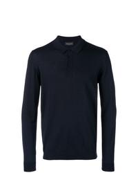 Roberto Collina Long Sleeved Polo Shirt