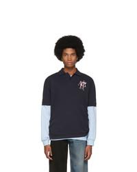 Afterhomework Navy Sweater Polo