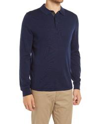 Nordstrom Men's Shop Nordstrom Washable Merino Wool Polo