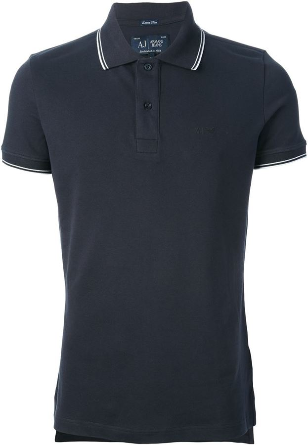 29aea3959117 Armani Jeans Slim Fit Polo Shirt   Where to buy   how to wear