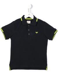 Armani Junior Logo Polo Shirt