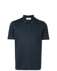 Cerruti 1881 Contrast Stitched Polo Shirt