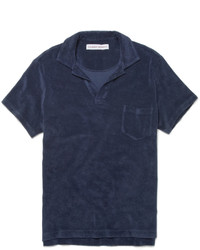 Orlebar Brown Cotton Terry Polo Shirt