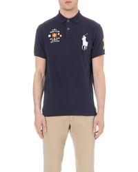Polo Ralph Lauren Custom Fit Big Pony Cotton Piqu Polo Shirt