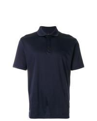 Z Zegna Cutaway Collar Polo Shirt