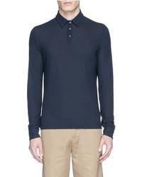 Incotex Ice Cotton Fine Knit Polo Shirt