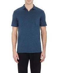 Barneys New York Johnny Polo Shirt Blue Size M