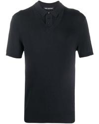 Neil Barrett Knitted Polo Shirt