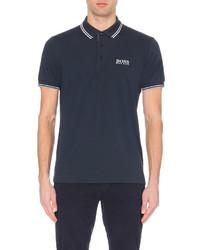 Hugo Boss Logo Detail Stretch Jersey Polo Shirt