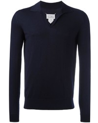 Maison Margiela Knitted Polo Shirt
