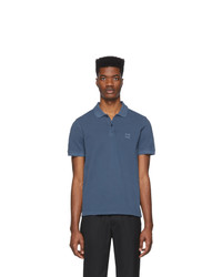 BOSS Navy Prime Slim Fit Polo