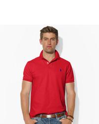 ... Polo Ralph Lauren Custom Fit Mesh Polo Shirt