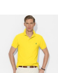 ... Polo Ralph Lauren Slim Fit Mesh Polo Shirt ...