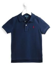 Ralph Lauren Kids High Low Polo Shirt