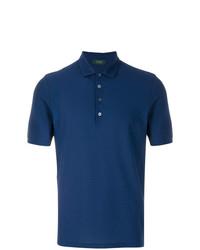 Zanone Short Sleeved Polo Shirt