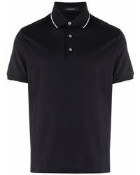 Ermenegildo Zegna Stripe Trimmed Polo Shirt