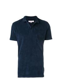 Orlebar Brown Towelling Resort Polo Shirt