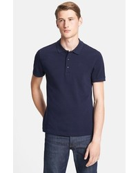 Versace Medusa Pique Polo Dark Navy Large
