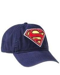 Bioworld Merchandising Classic Superman Baseball Cap Navy