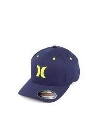 Hurley hats one colour baseball cap navy medium 86358