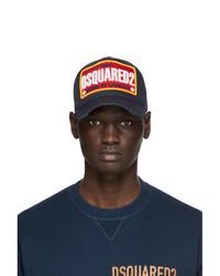 DSQUARED2 Navy Baseball Cap