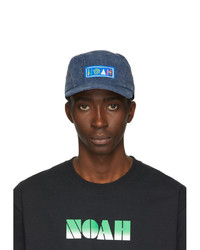 Noah NYC Navy Recycled Canvas Hemingway Cap
