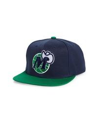 Mitchell & Ness Nba Core Basic Dallas Mavericks Snapback Baseball Cap