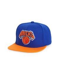 Mitchell & Ness Nba New Yorks Knicks Snapback Baseball Cap