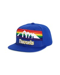 Mitchell & Ness Nba Shorts Hook Denver Nuggets Snapback Baseball Cap