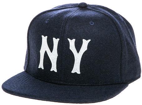 b269d050 Reason The Ny Team Snapback Hat In Navy, $28 | Miss KL | Lookastic.com