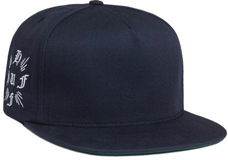 2c0f3c1b HUF The Cross Snapback Hat In Navy, $34 | Miss KL | Lookastic.com