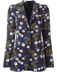 Twin-Set Floral Print Blazer