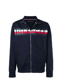 Tommy Hilfiger Logo Stripe Print Jacket