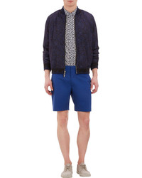 Marc by Marc Jacobs Wave Print Bomber Jacket
