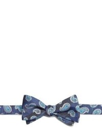 Saks Fifth Avenue Collection Paisley Print Bow Tie