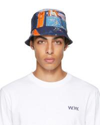 Wood Wood Multicolor Jp Bucket Hat