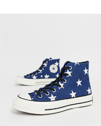 Converse Chuck 70 Star Print Trainers