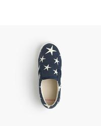 J.Crew Girls Printed Slide Sneakers
