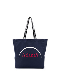 Perks And Mini Atlantis Print Tote