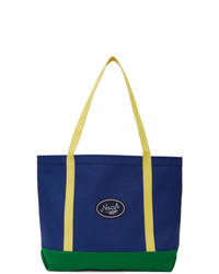 Noah NYC Blue Colorblocked Tote
