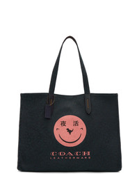 Coach 1941 Navy Yeti Out Edition Rexy 42 Tote