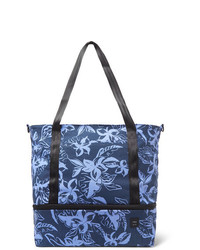 Onia Printed Cotton Canvas Tote Bag