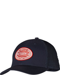 Patagonia Ratitude Trucker Hat Navy Blue Baseball Caps