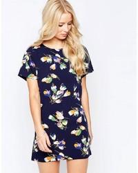 Iska Shift Dress In Petal Print