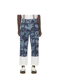 Loewe Indigo William De Morgan Fisherman Jeans