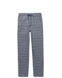 A.P.C. Kaplan Bandana Print Cotton Drawstring Trousers